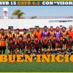 VERACRUZ SUB 13 VENCIÓ 2-0 A NECAXA