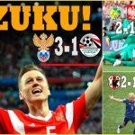 ¡JAPÓN Y SENEGAL SORPRENDEN!… RUSIA SE IMPUSO 3-1 AL EGIPTO DE SALAH
