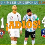ARGENTINA Y PORTUGAL… ¡FUERA!